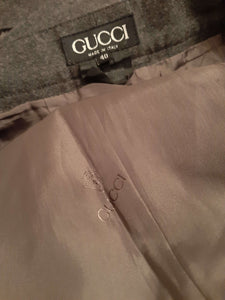 GUCCI Wool&Cashmere Pants | high wasted | XS:[Past out]:[vintage clothes]