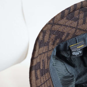 FENDI Zucca Bucket Hat | wool | monogram |:[Past out]:[vintage clothes]