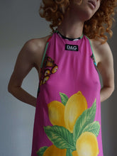 1996 D&G Sicilia Beach Dress | logo | monogram | M:[Past out]:[vintage clothes]