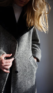 Marella Wool Coat | Faux Fur Collar | M