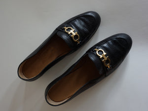 Salvatore Ferragamo Loafers | snakeskin pattern | 37.5