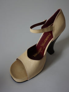 Vivienne Westwood Platforms | Mary Jane Peep Toe High Heels | 36