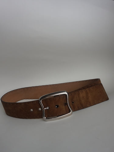 Prada Suede Leather Belt