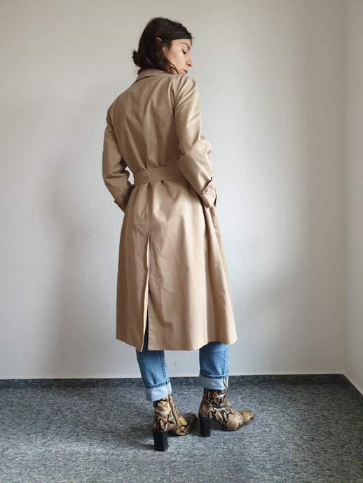 Burberry Classic Trench Coat | Nova Check Lining | S