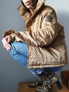 Versace Jeans Quilted Jacket | Versace Puffer Jacket | S-M
