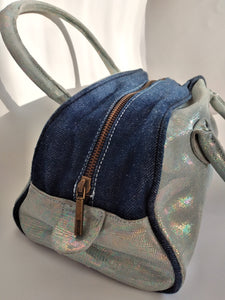 Y2k Cavalli Holographic Shoulder Bag | Baguette Bag