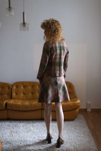 Y2k Max & Co. Plaid Skirt Suit | A line skirt | S:[Past out]:[vintage clothes]
