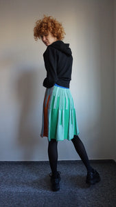 Y2k Colorful Wool Skirt | XS/S