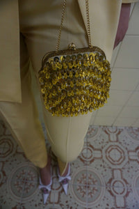 Mini Beaded Purse:[Past out]:[vintage clothes]