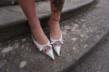 Y2k Transparent Pointed Toe Mules | High Heels | 39:[Past out]:[vintage clothes]
