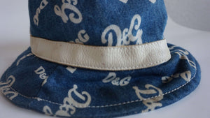 Y2k D&G Monogram Bucket Hat | Jeans | S:[Past out]:[vintage clothes]