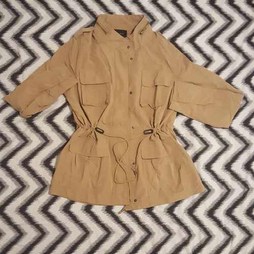 CAMEL CHIC JACKET