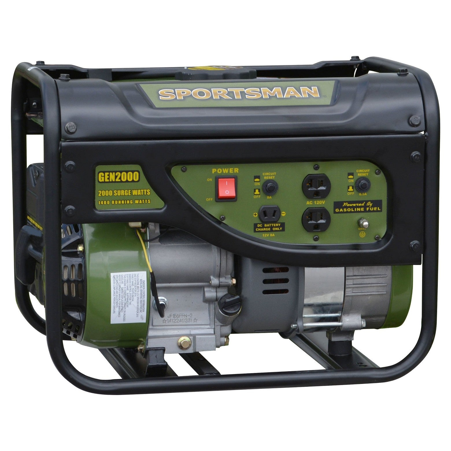 Sportsman 2000 Watt Gasoline Generator Price includes shipping to