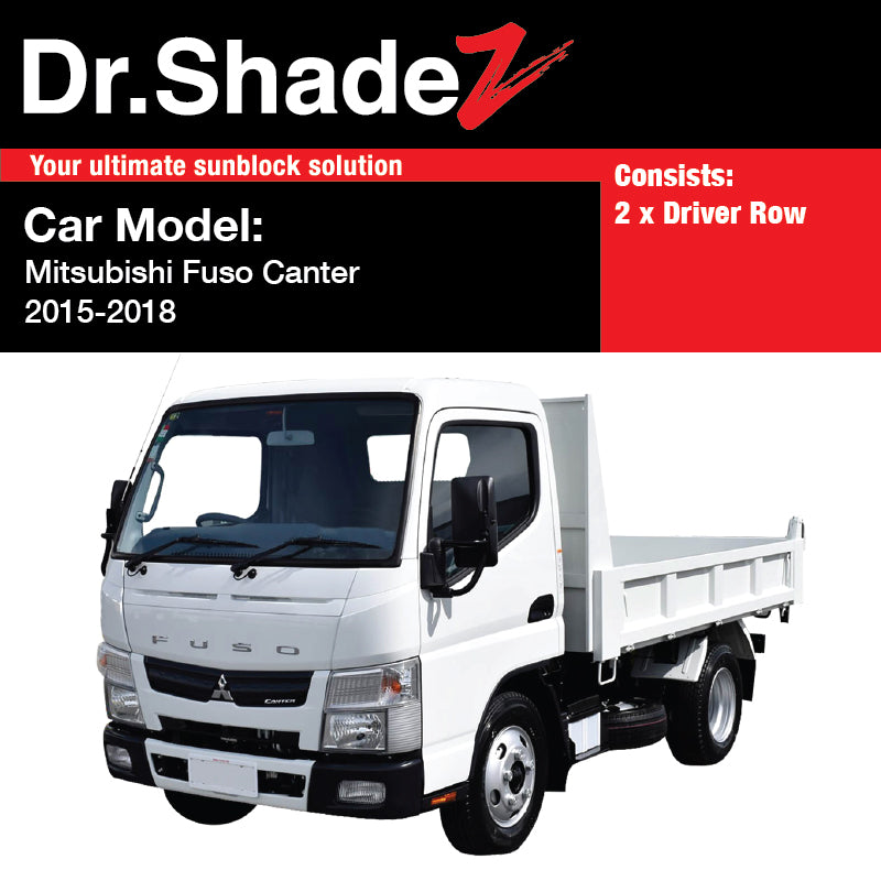 Mitsubishi Fuso Canter 2015-2019 Japan Light Duty Truck Customised Lorry  Windows Magnetic Sunshades
