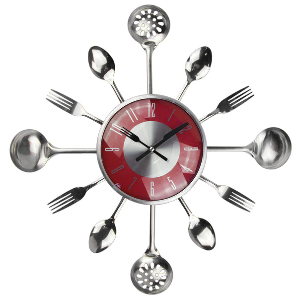 Horloge murale kitchen tools
