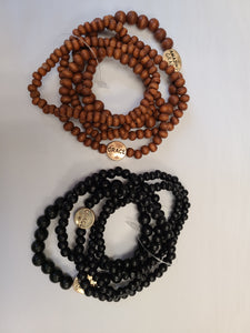 Wood Grace Bracelet (2 colors)