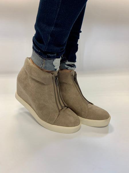 Zippy Wedge Sneaker