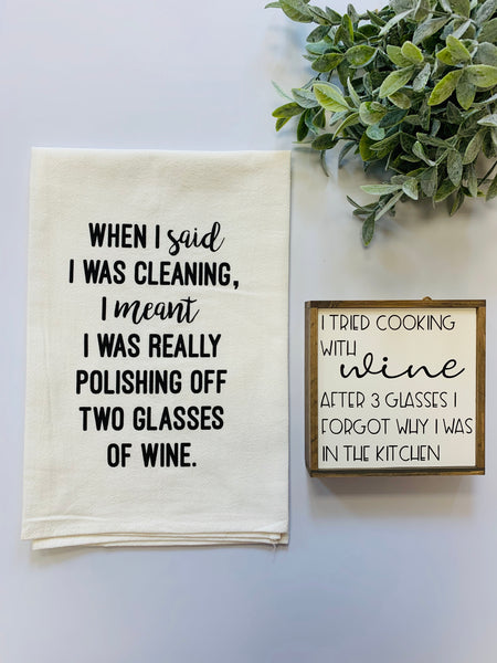 Tea Towels ~ Coffee/Wine (7 styles)