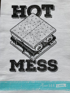 Hot Mess Tea Towel