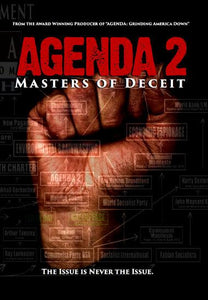 Agenda 2: Masters of Deceit (DVD) + FREE BONUS DVD: Enemies Within!