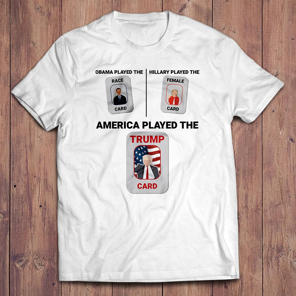 Trump Card T-Shirt (Made in USA)