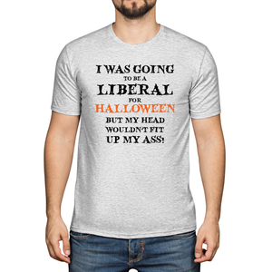 Liberal for Halloween T-Shirt (MADE IN THE USA)