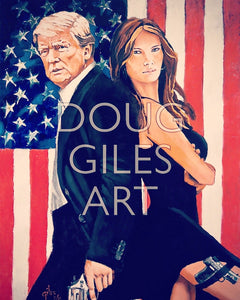 Mr. & Mrs. Trump Print (8.5 x 11 Limited Edition)