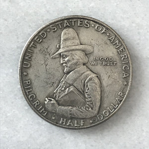 1920 Pilgrim Commemorative Half Dollar Replica Coin