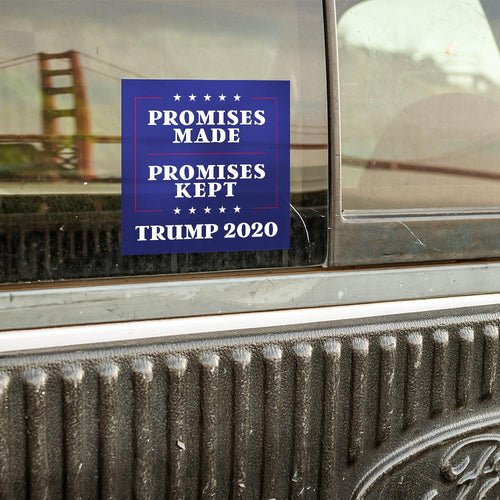 Promises Made Promises Kept Bumper Sticker (MADE IN THE USA)