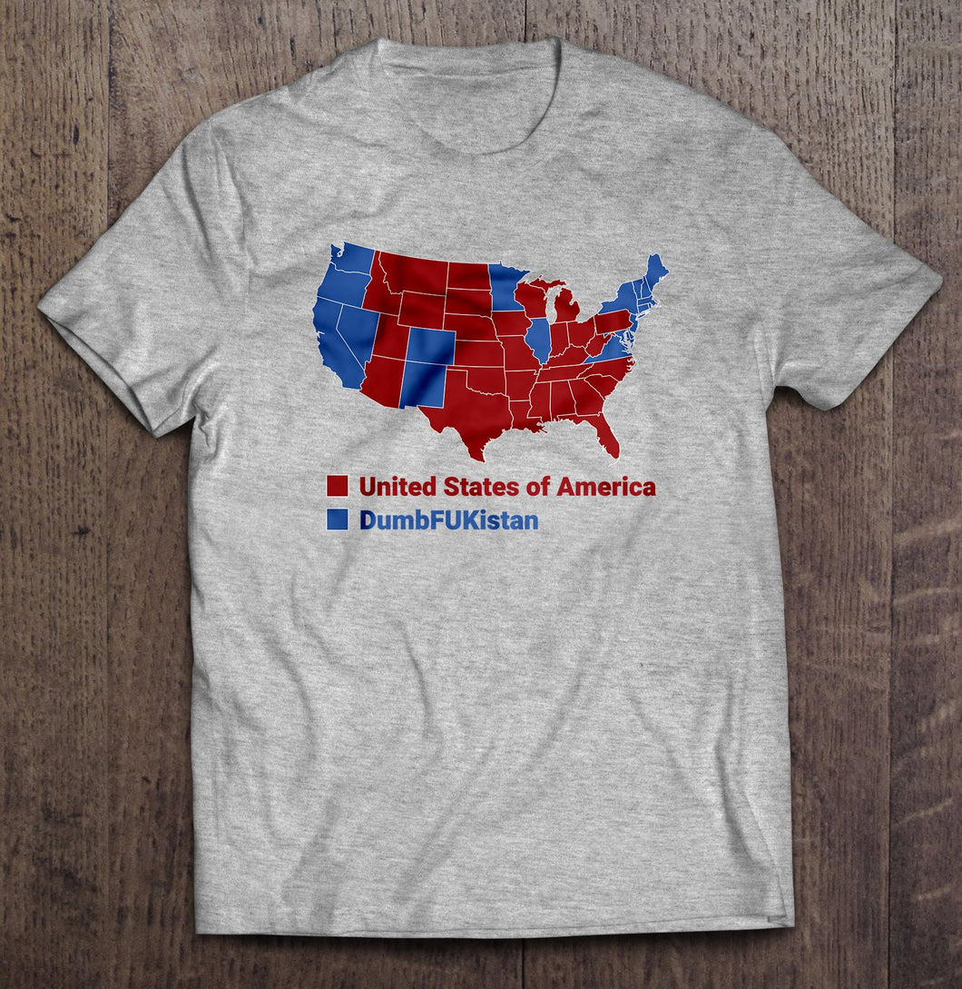 USA vs. DumFUKistan T-Shirt (Made in the USA)