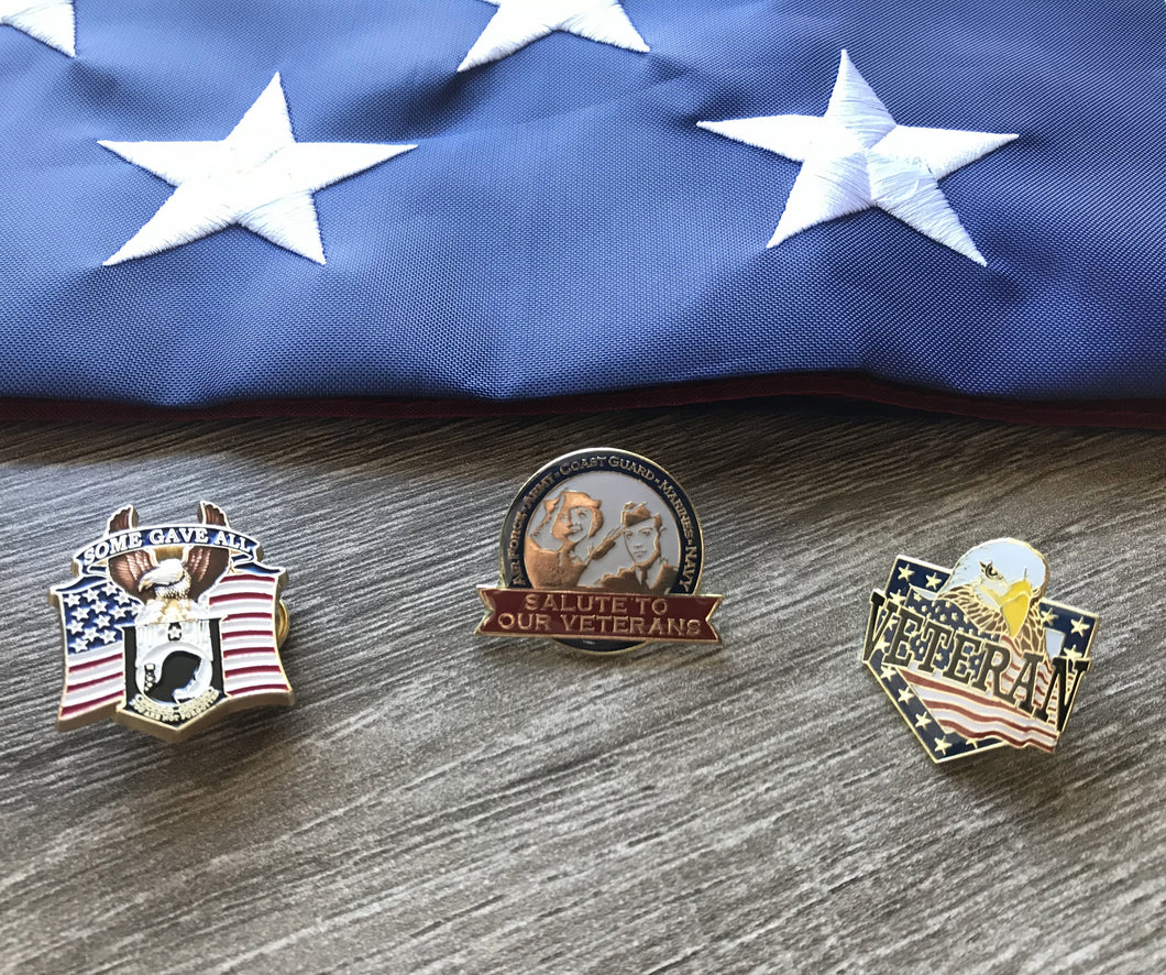 Veteran Pin Set