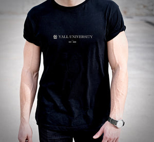 Yall University - Est. 1836 Tshirt (MADE IN THE USA)