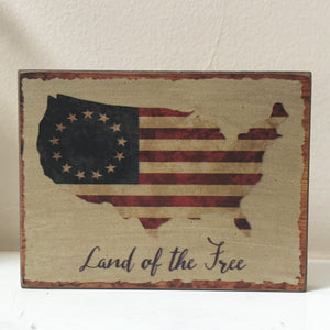 Land of The Free Block