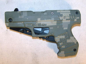 Camouflage Gun Knife With Belt Clip