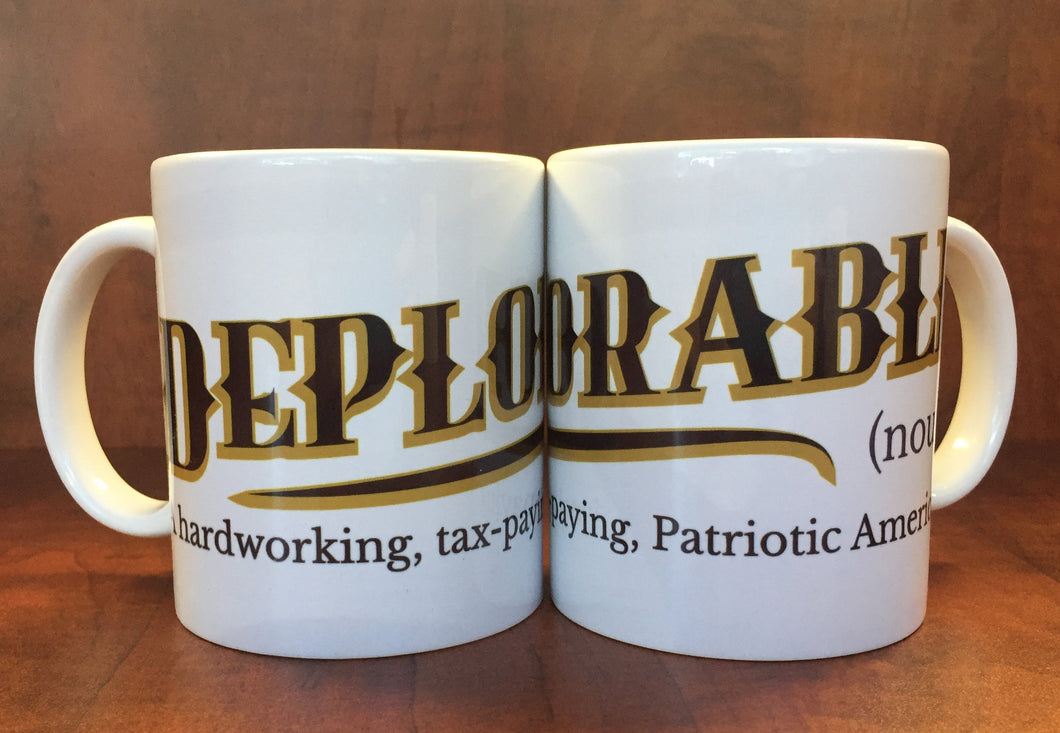Definition of a Deplorable Coffee Mug