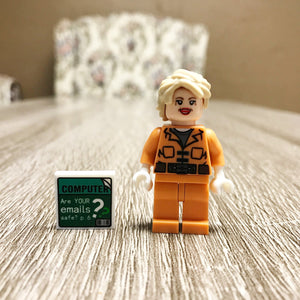 Prison Hillary Limited Edition Collector's Item (LEGO-Compatible)