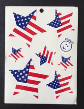 American Flag Star Stickers (7-Pack)