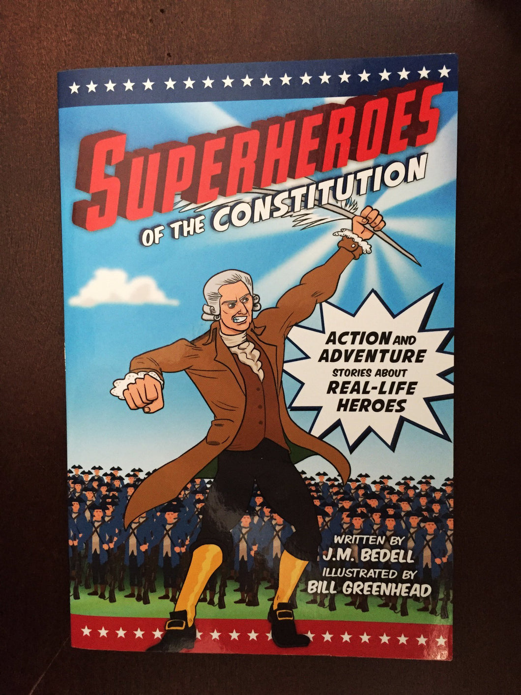 Superheroes of the Constitution Comic Book