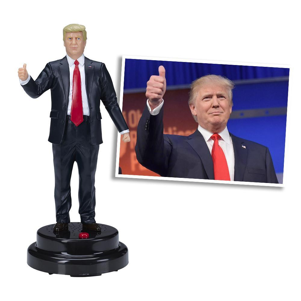 Donald Trump Talking Figure (Limited Edition Collector's Item) + FREE