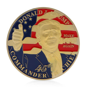 Donald Trump Commemorative Collector's Coin