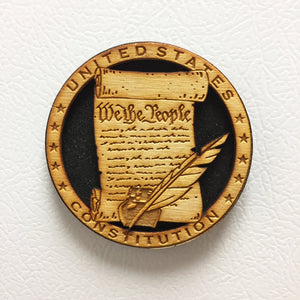 USA Constitution Magnet (Collector's Item)