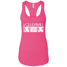 Volleyball Mom Womens Racerback Tank