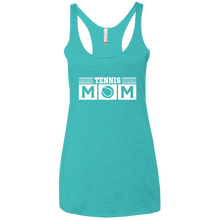 Tennis Mom - Womens Tri-Blend Racerback Tank