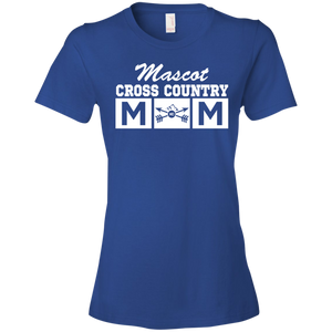 Cross Country Mom - Personalized - Womens Shirt