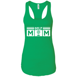 Golf Mom Womens Racerback Tank