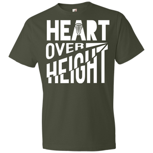 Heart Over Height (Lacrosse) - Unisex Shirt