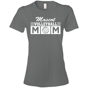 Volleyball Mom - Personalized - Womens Shirt