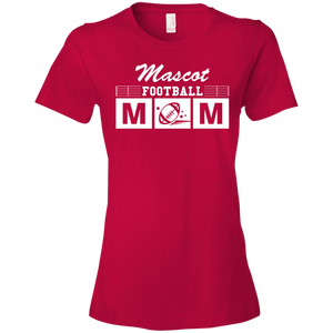 Football Mom - Personalize - Womens Shirt