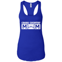 Cross Country Mom Womens Racerback Tank