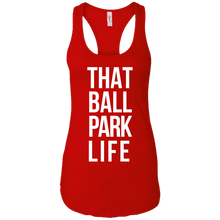That Ball Park Life Womens Racerback Tank